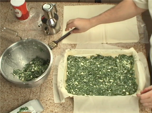 Greek Cooking: Spanakopita